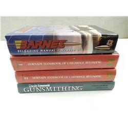 RELOADING & GUNSMITHING BOOKS