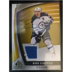 2017-18 SP Game Used Gold Jersey Mark Scheifele #73