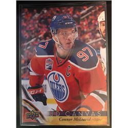 2017-18 Upper Deck Canvas Connor Mcdavid Card #C33
