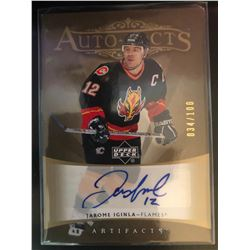 2005-06 Upper Deck Artifacts Autograph Jarome Iginla