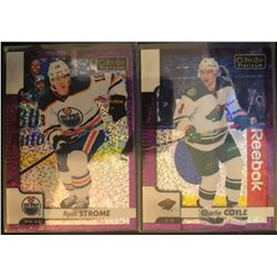 2017-18 O-Pee-Chee Violet Pixels Ryan Strome #74, And
