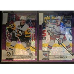 2017-18 O-Pee-Chee Violet Pixels Jake Guentzel #33, And