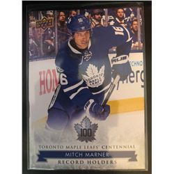 2017 Upper Deck Maple Leafs Centennial Mitch Marner