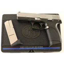 FN Forty-Nine .40 S&W SN: 517NN02535