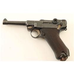 DWM P.08 Military Luger 9mm SN: 7595n