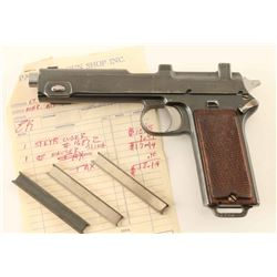 Nazi Marked Steyr-Hahn M1912 9mm SN: 1687z