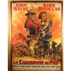 French John Wayne Movie Poster