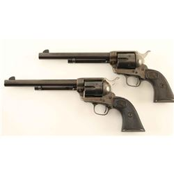 Colt Single Action Army Consecutive# Set 38