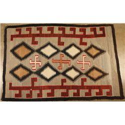 Navajo Rolling Log Textile weaving