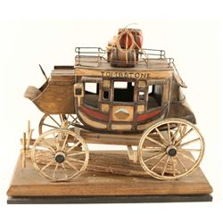 Handmade Miniature Stagecoach