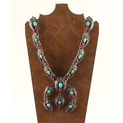 Beautiful Large Navajo Made Kingman Turquoise,