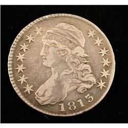 1813 Liberty Capped Half Dollar
