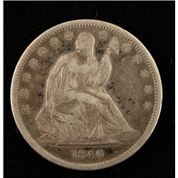 1840 Liberty Seated Half Dollar