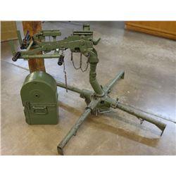 Browning M2 Anti-Aircraft M63 Ground Mount