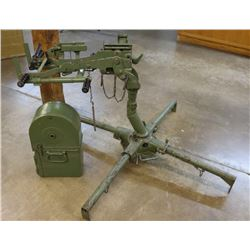 Browning M2 Anti-Aircraft M63 Ground Mount