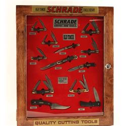 Double Sided Schrade/Taylor Brands Display Case