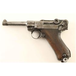 "Mauser ""42"" Code Luger 9mm SN: 1800t"