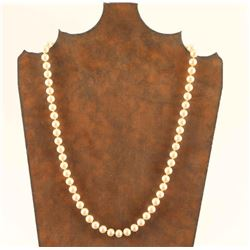"11"" Ladies Pearl Necklace"