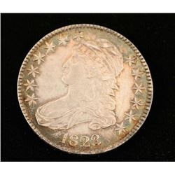 1823 Liberty Capped Half Dollar