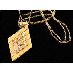 Ladies Diamond Pendant