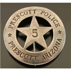 Prescott Police badge