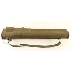 US M72A2 LAW Rocket Launcher. Display/ inert