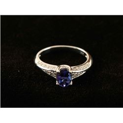 Beautiful Ladies Tanzanite Ring
