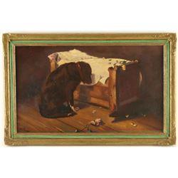 Original Oil on Board by Una Gray