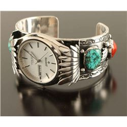 Navajo Watchband Cuff