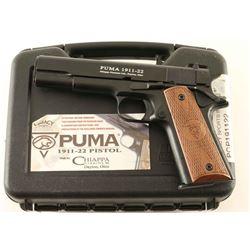 Chiappa Puma 1911-22 .22 LR SN: D19880