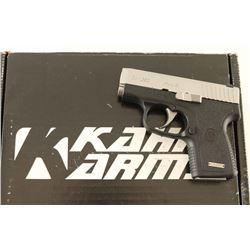 Kahr Arms CW380 .380 ACP SN: RJ4506