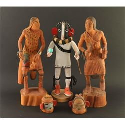 Lot of 3 Kachinas