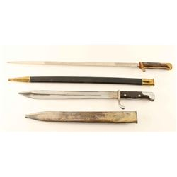 Lot of 2 German Bayonets