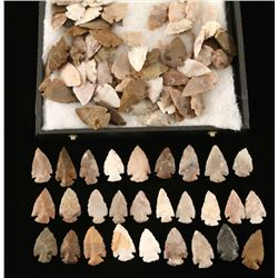 Lot of 100 Arrowheads
