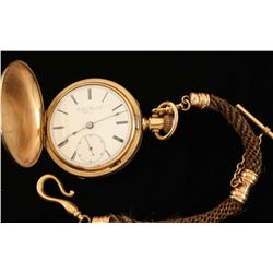 Pocket Watch in Hunters Case