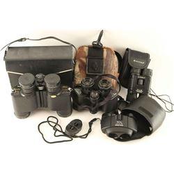 Lot of 4 Binoculars