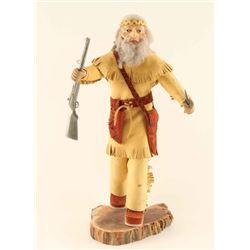 Mountain Man Kachina Doll