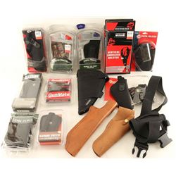 Large Holster Lot