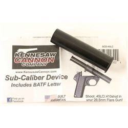 26.5mm Flare Gun Sub-Caliber Device