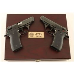 Cased Astra A-60 .380 ACP Two Gun Set