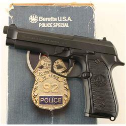 Beretta 96D PS .40 S&W SN: BER005724