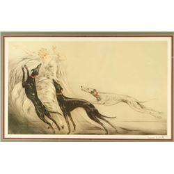Fine Art Print by Louis Icart