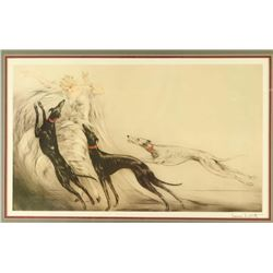 Fine Art Print by Louis Icart