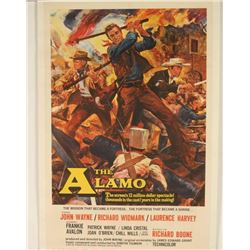 Vintage 'The Alamo' Movie Poster