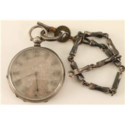 Mid 19th Century Pocket Watch