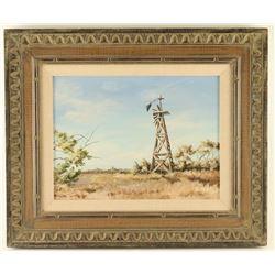 Original Oil on Board by Sherry Jo Horton