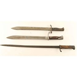 German WWI Butcher Blade Bayonet & More