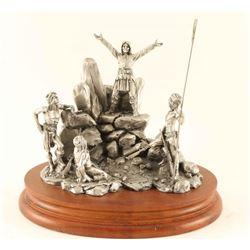 Pewter Sculpture by Chilmark