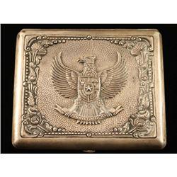 Heavy Sterling Silver Cigarette Case