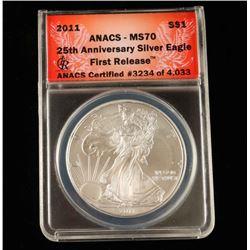 2011 US Silver Eagle